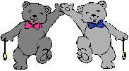 Bear buddies gray
